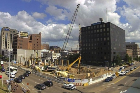 Exchange Building Changes Historic Landscape in Downtown Kalamazoo