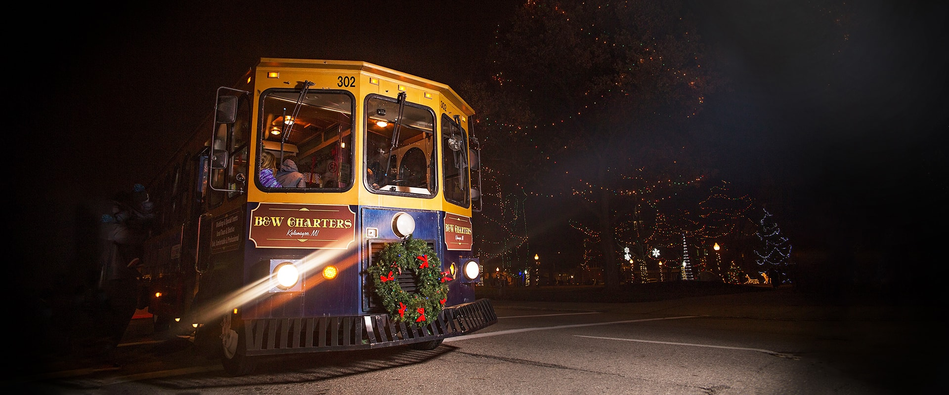 Downtown Kalamazoo Trolley