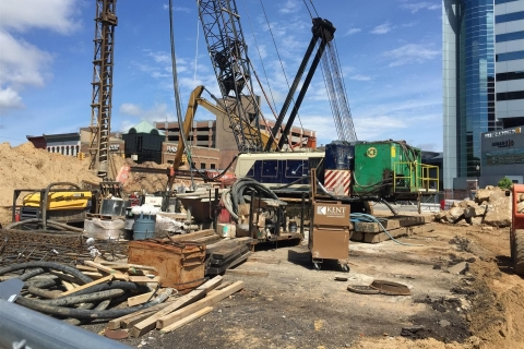 Construction May – July 2017