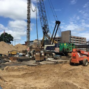 Exchange Building Construction Photos May 26, 2017