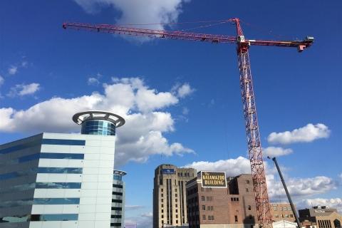 Construction Big Crane October 20, 2017
