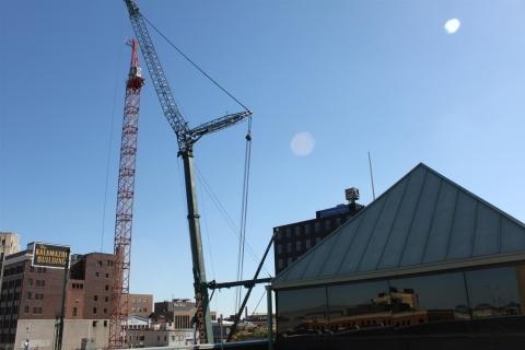 Construction Big Crane October 26, 2017